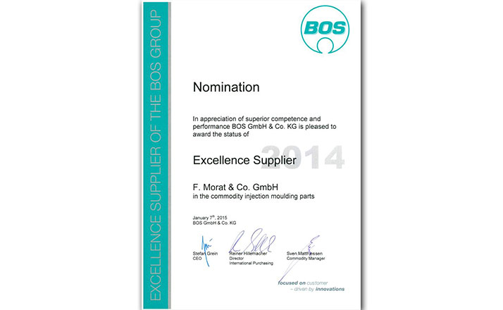 Excellence Supplier