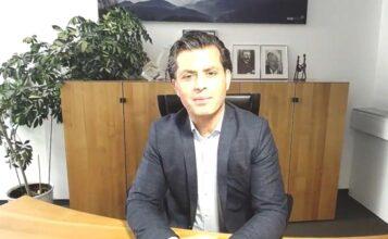 FMG Livescreen von der virtuellen Betriebsversammlung Herr Balkis