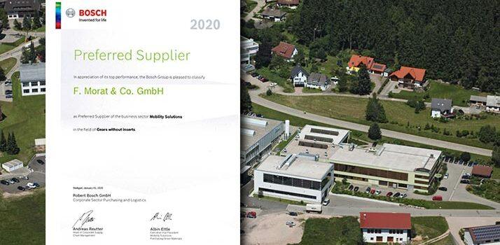 Preferred Supplier für Bosch